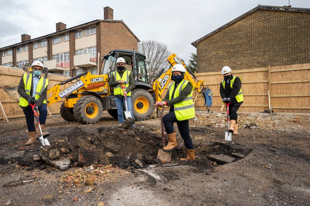Newham Ground Breaking